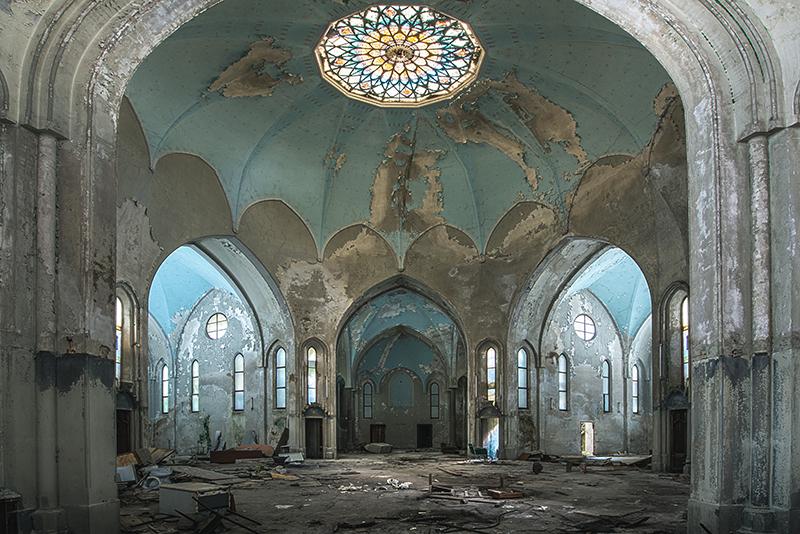 Abandoned church Italy