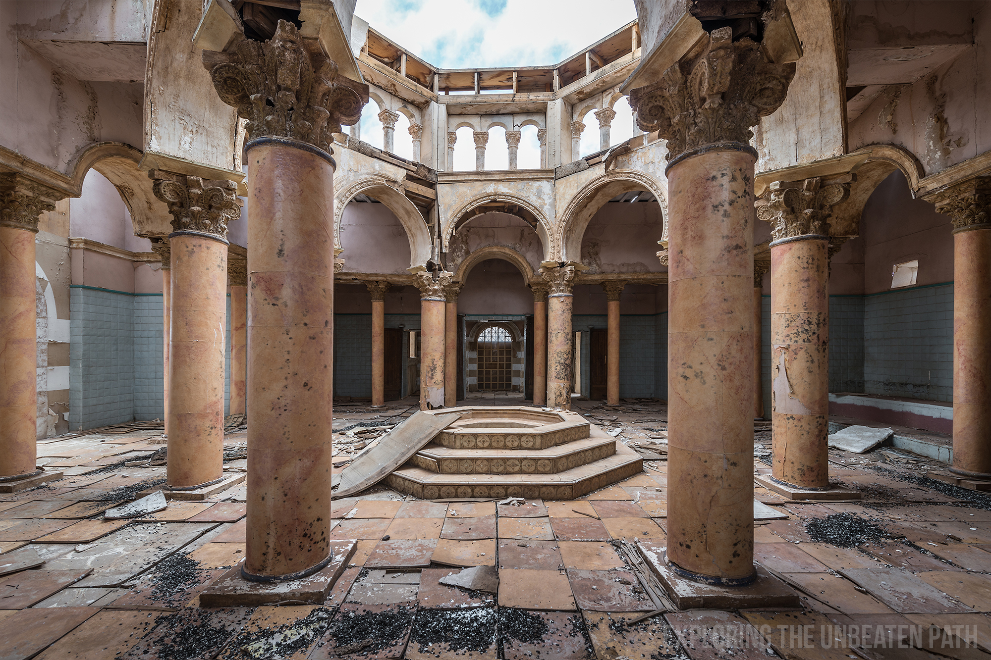 Abandoned movie set Morocco urbex urban exploring