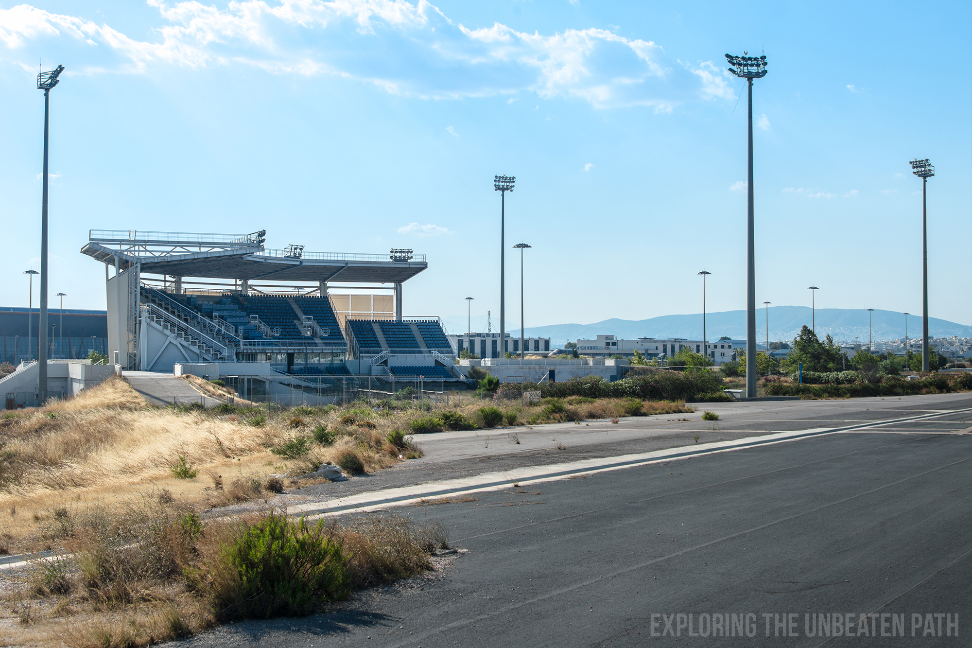 Greece abandoned Olympic stadiums urbex urban exploring