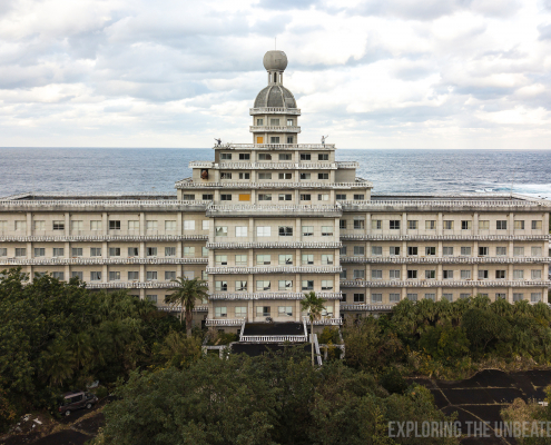 Hachijojima royal resort urbex haikjo japan urban exploring
