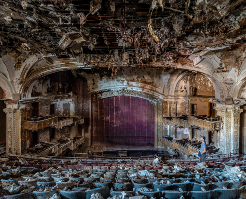 abandoned theatre united states urbex urban exploring
