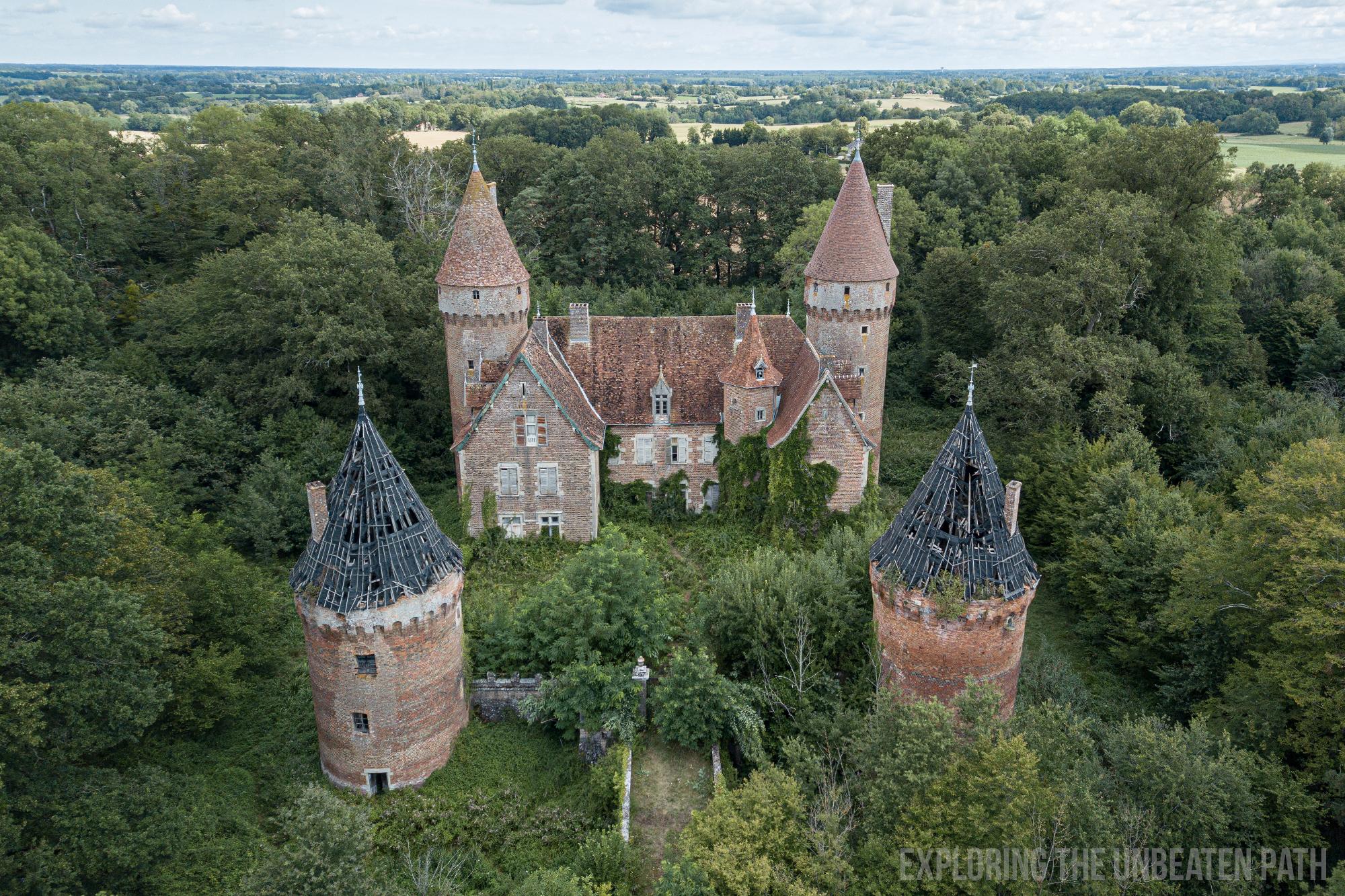 Abandoned Castle France Urbex