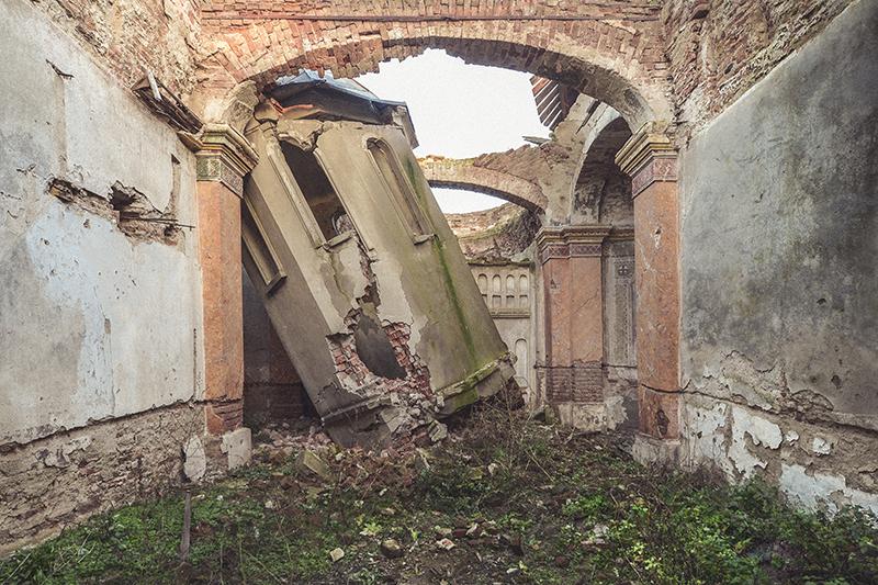 Abandoned church Romania