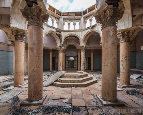 Abandoned movie set Morocco urbex urban exploring