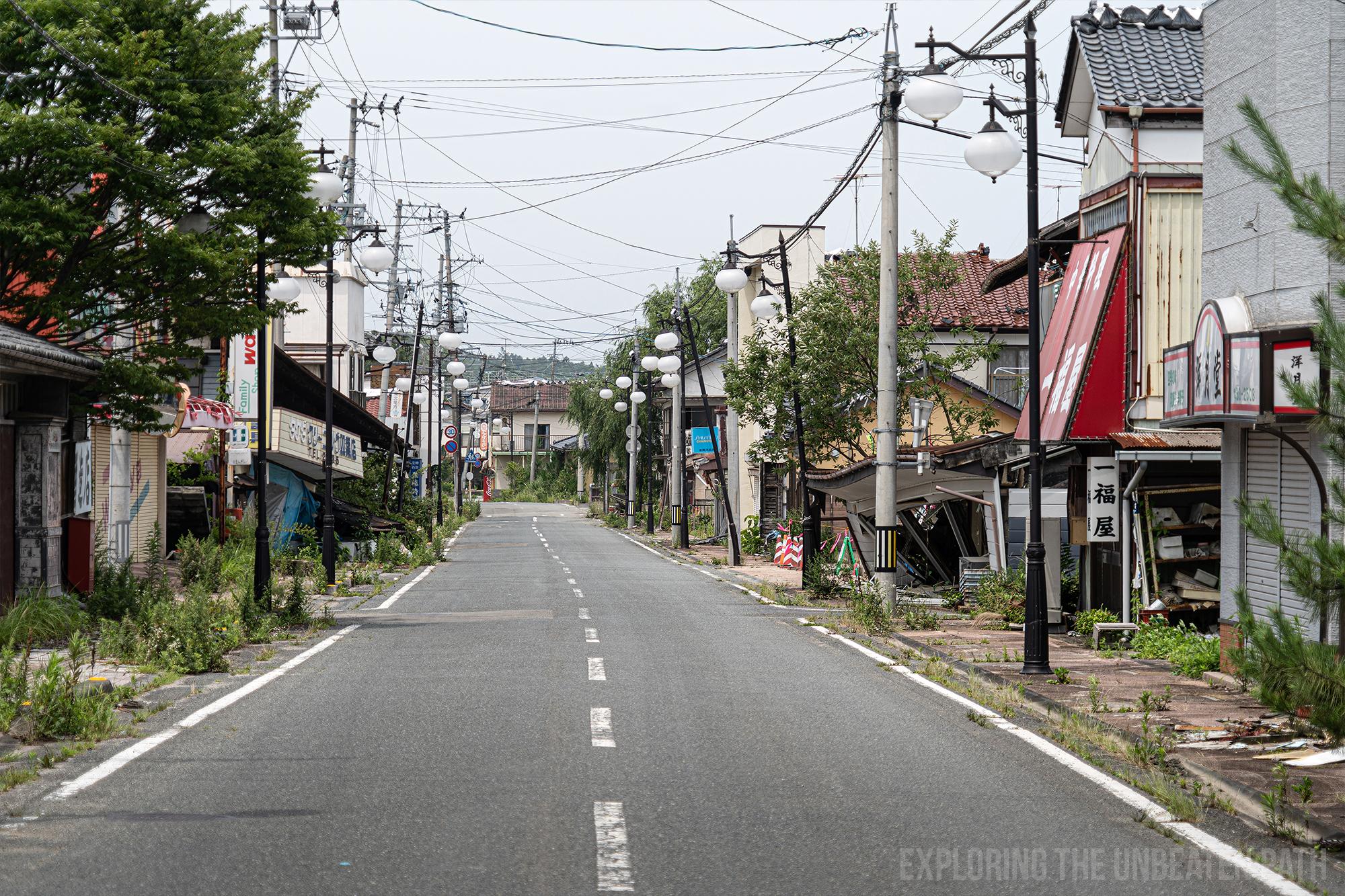 Fukushima Exclusion zone abandoned urbex urban exploring radioactive