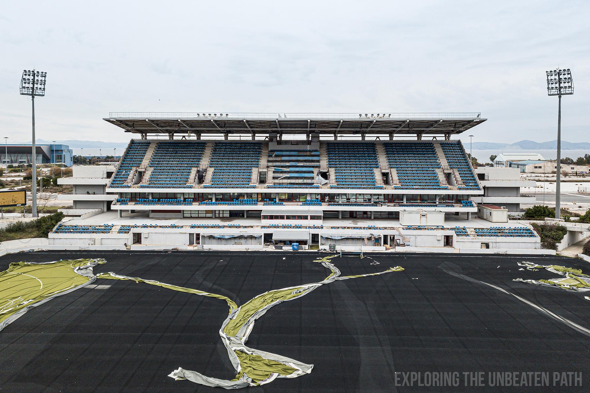 Greece abandoned Olympic stadiums urbex urban exploring