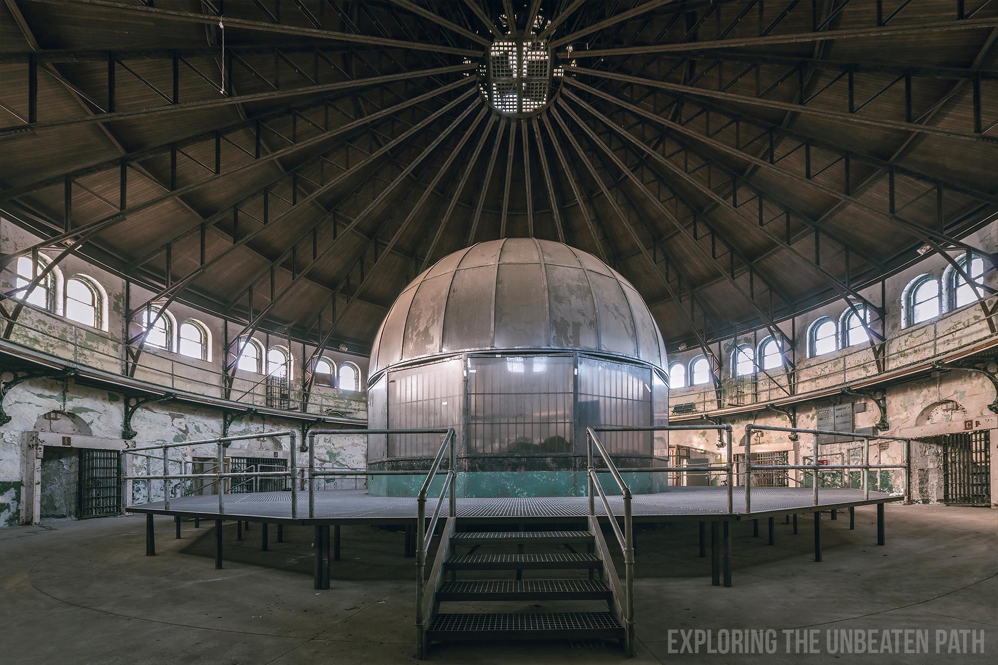 Holmesburg prison abandoned urbex urban exploring