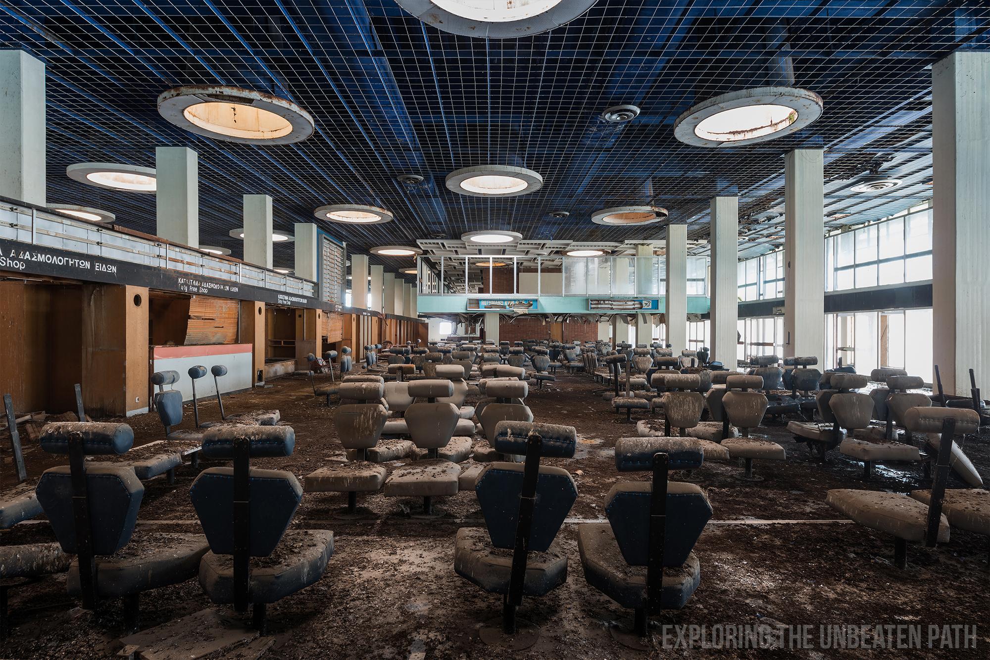 Nicosia airport buffer zone urbex abandoned urban exploring