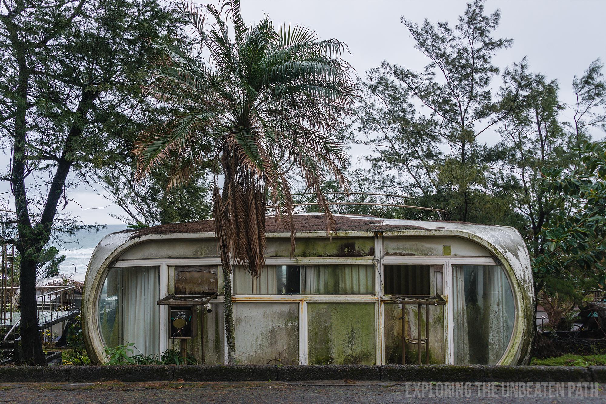 Abandoned Wanli UFO ghost town Taiwan urbex urban exploring
