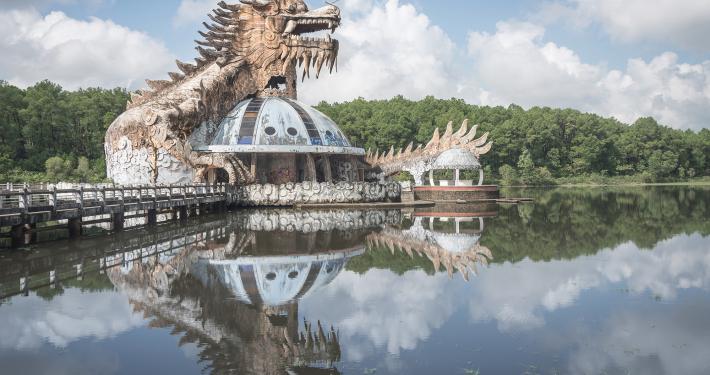 Abandoned Water Park Hue Vietnam urbex